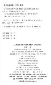辽中南城市群产业集聚模式与效应研究