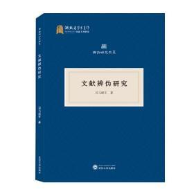 文献辨伪研究  司马朝军 著 武汉大学出版社  9787307221277
