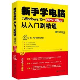 新手学电脑(windows10+WPS Office)从入门到精通