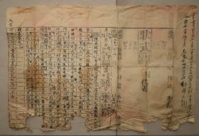 状式  怀化  芷江  光绪21年2月  原告  被告  禀状  禀词  官司  状纸  诉讼  文书  案稿