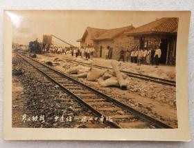 益灰铁路  60年代左右老照片像片  益阳铁路  益阳  铁路  火车  之二