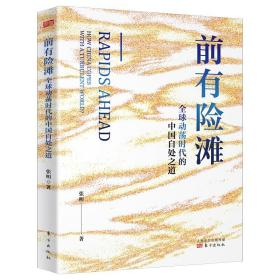 正版 前有险滩 全球动荡时代的中国自处之道 张明著 金融危机 中国宏观经济学 中国经济2020 大变局 中美贸易摩擦 人民东方出版社