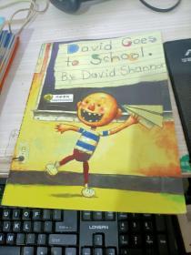 绘本DAVID GOES TO SCHOOL