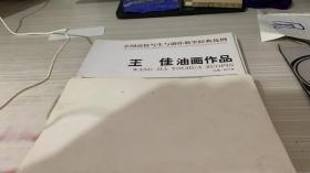 王佳油画作品/全国高校写生与创作教学经典范例