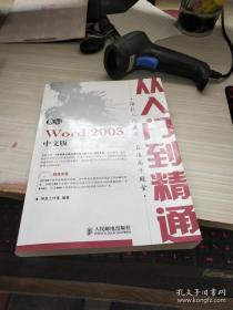 从入门到精通:新编Word 2003中文版