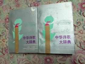 中华诗歌大辞典(上下)