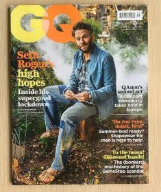 英国版 GQ绅士2021年5月 时尚潮流男士服装英文杂志