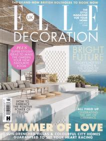 ELLE DECORATION 住宅装饰2021年7月 英国版室内装修设计英文杂志