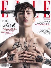 ELLE 2021年6月 女士时尚服饰潮流服装英文杂志 英国版