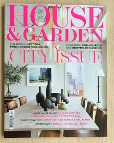 HOUSE&GARDEN 住宅与庭院2021年4月英国家居装饰装修设计杂志