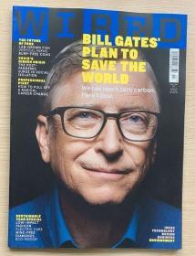 英文版 WIRED连线 2021年3/4月合刊 英国科技杂志