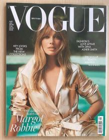 英国版 VOGUE 2021年8月 英文女士时尚潮流趋势服装杂志