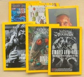 National Geographic美国国家地理2020年3-11月 6本打包英文杂志