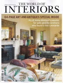 The World of Interiors家居世界2021年6月 英国家居设计英文杂志