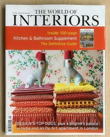 The World of Interiors家居世界2021年5月英国家居设计英文杂志