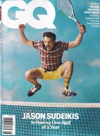 美国版 GQ绅士2021年8月 时尚潮流男士服装英文杂志