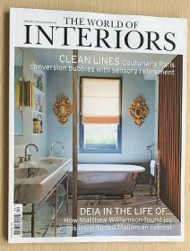 The World of Interiors家居世界2021年4月 英国家居设计英文杂志