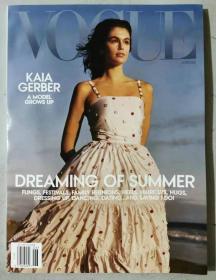 美国版 VOGUE 2021年6/7月合刊 女士时尚潮流服饰服装英文杂志