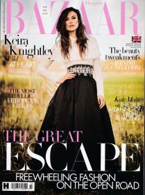 HARPER`S BAZAAR芭莎2021年7月 英国版时尚女士服装英文杂志