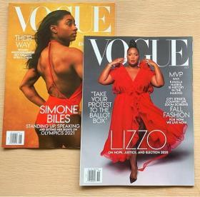 美国版VOGUE 2020年8+10月 2本打包时尚潮流趋势服装英文杂志