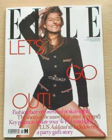英国版 ELLE 2021年5月 女士时尚服饰潮流服装英文杂志