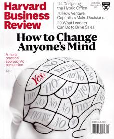 Harvard Business Review 哈佛商业评论2021年3/4月合刊 英文杂志