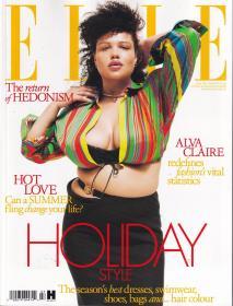 ELLE 2021年7月 女士时尚服饰潮流服装英文杂志 英国版