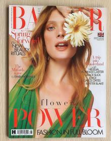 英国版 HARPER`S BAZAAR 芭莎2021年5月 英文时尚女士服装杂志