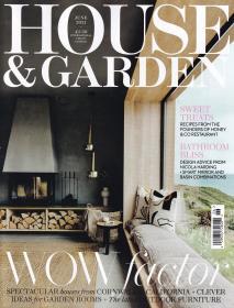 HOUSE GARDEN 住宅与庭院2021年6月英国家居装饰装修设计杂志