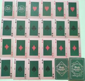 扑克--哈尔滨啤酒1900臻藏