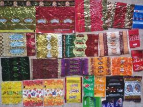 俄罗斯糖标-糖纸-糖果包装纸(26种不同)