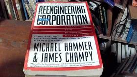 英文原版 The Reengineering Corporation by Michael Hammer 著