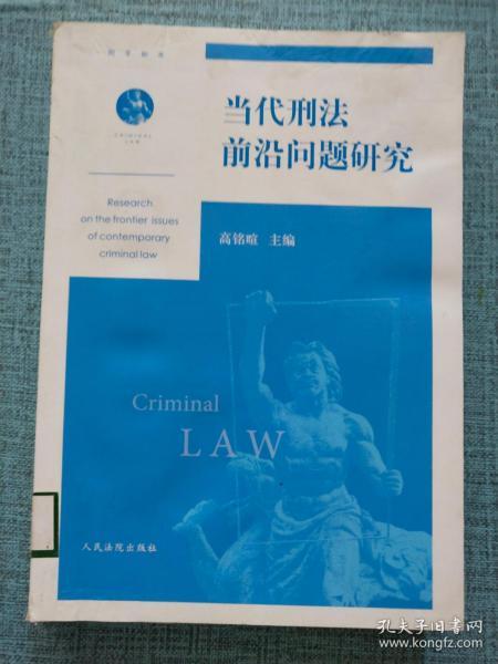 当代刑法前沿问题研究