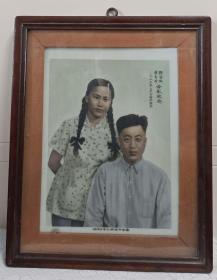 """杨厚兴,邹昆仑引领南昌市瓷像工艺合作社1955年绘制""""人像""""瓷板画"""