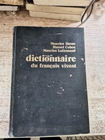 dictionnaire du francais vivant