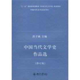 中国当代文学史作品选修订版洪子诚北京大学出版社9787301138755