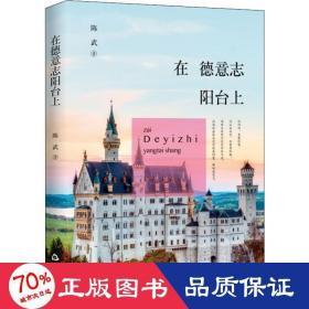 在德意志阳台上 中国现当代文学 陈武 新华正版