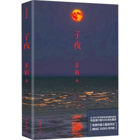 子夜 中國文學名著讀物 茅盾 新華正版