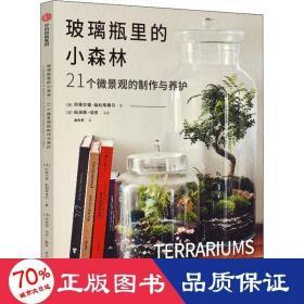 玻璃瓶里的小森林:21個微景觀的制作與養護