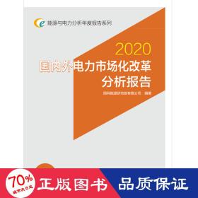 能源與電力分析年度報告系列:2020國內外電力市場化改革分析報告