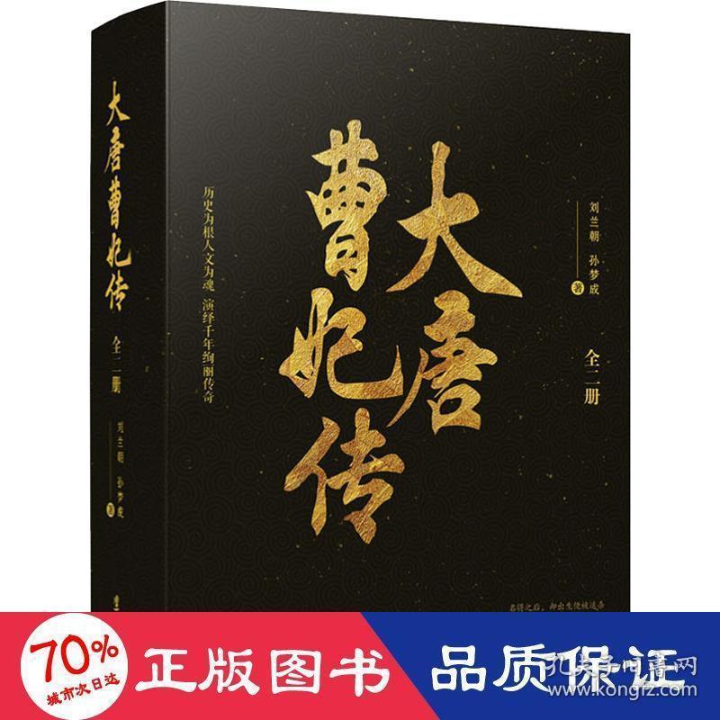 大唐曹妃传:《长安十二时辰》之后,又一部史诗级演绎唐朝历史的小说!