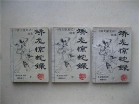 矫龙惊蛇录(上中下)----倚天屠龙记续集 ------  包邮挂刷!!!