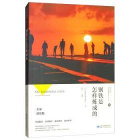 钢铁是怎样炼成的  [苏]奥斯特洛夫斯基,赵丹  甘肃少年儿童出版