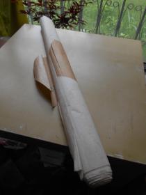 老纸头【80年代,四尺特净宣纸,10张】有南京画店包装纸