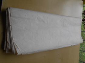 老纸头【90年代,宣纸,49张】尺寸:68×47厘米
