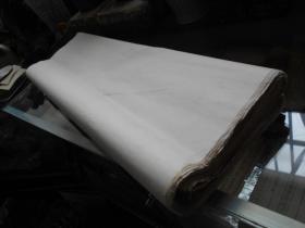 老纸头【90年代,四尺宣纸,58张】局部有水迹斑