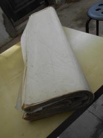 老纸头【90年代,四尺,夹江县埝江国画纸,77张】