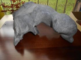 老户人家收来的【灵璧奇石】尺寸约:28×19×13厘米