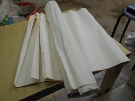 老纸头【90年代,四尺宣纸8张,三尺10张】送3张零散