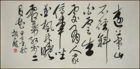 【胡一龙】当代著名书画家 清华大学美术学院高研班导师 中国禅宗书画院院长 书法